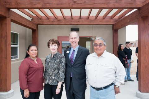 Thanks in part to a $287,000 Affordable Housing Program grant from Century Bank and FHLB Dallas, a new rental community has been built in Santo Domingo Pueblo, New Mexico. (Photo: Business Wire)