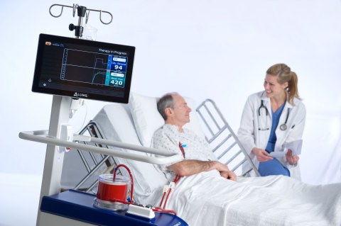 The Hemolung RAS is an investigational device from ALung Technologies which provides extracorporeal carbon dioxide removal for patients with acute respiratory failure due to acute exacerbation of COPD. (Photo: Business Wire)