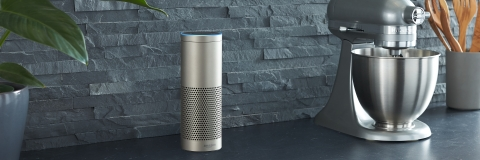 The new Echo Plus (Photo: Business Wire)