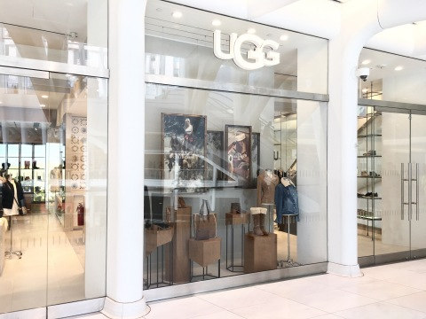 UGG Store at Westfield World Trade Center (Photo: Sean Sime Photography)