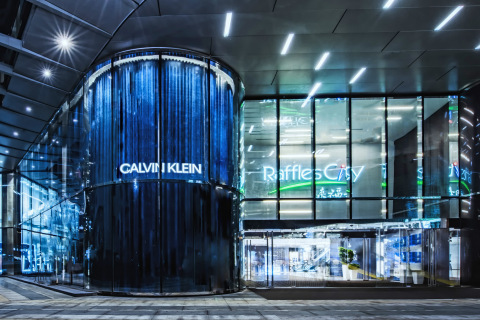 CALVIN KLEIN Multi-Brand Lifestyle Store, Shanghai, China (Photo: © 2017 Andy Shen)