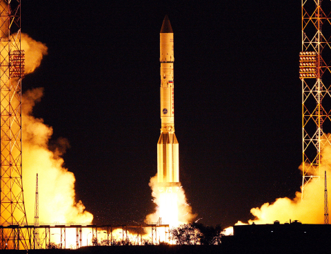 ILS Proton successfully launches the AsiaSat 9 satellite for AsiaSat. (Photo: Khrunichev Space Cente ...