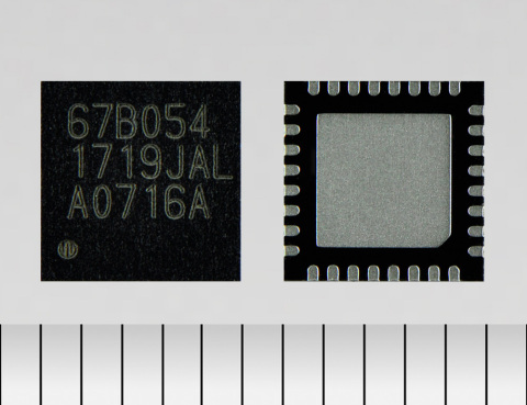 """Toshiba Electronic Devices & Storage Corporation: """"TB67B054FTG,"""" a new three-phase brushless fan motor controller IC for home appliances. (Photo: Business Wire)"""