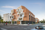WoodWorks Wood Design Award – 2017 Winner; One North – Karuna East and West Buildings; Holst Architecture. (Photo: Andrew Pogue)