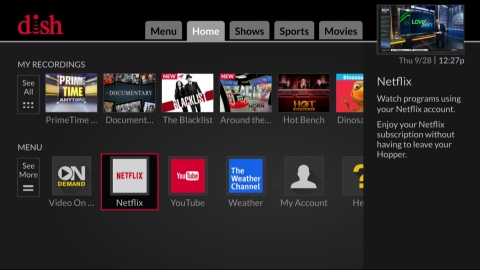 DISH introduces whole-home Netflix experience (Photo: Business Wire)