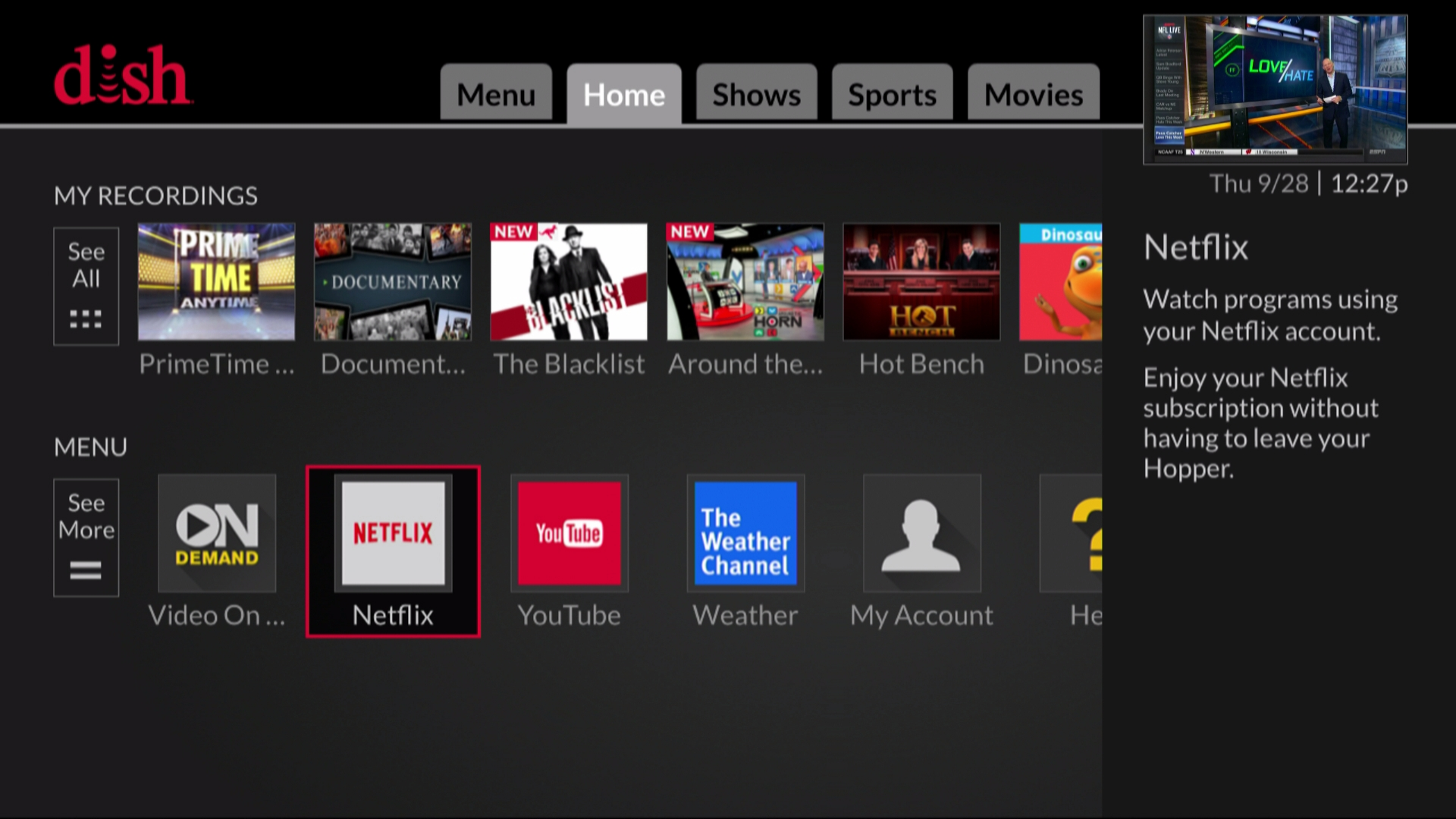 DISH Introduces Whole-Home 4K Netflix Experience | Startup 365