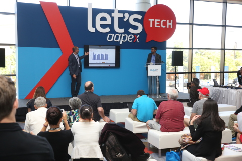 Let's Tech presentations at AAPEX 2017 in Las Vegas will cover the latest technology products and services in the automotive aftermarket. (Photo: Business Wire)
