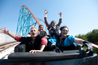 Even ghouls enjoy the monster coasters at Six Flags Magic Mountain's Fright Fest, voted #1 Theme Park Halloween Event in 2017. (Photo: Business Wire)