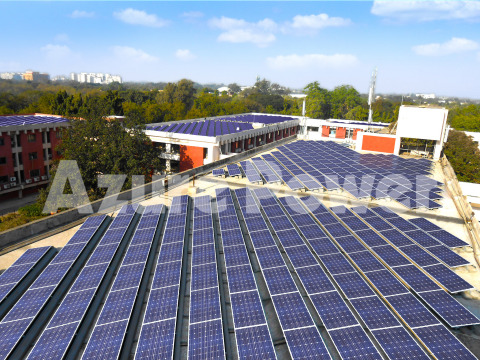 Azure Roof Power Project (Photo: Business Wire)