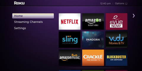 Evolution Digital's eVUE-NOW! on Roku (Photo: Business Wire)