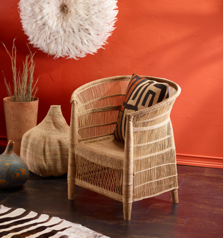 Malawi Wicker Chair from the new CRAFT Africa Collection at Cost Plus World Market (Photo: Business Wire)