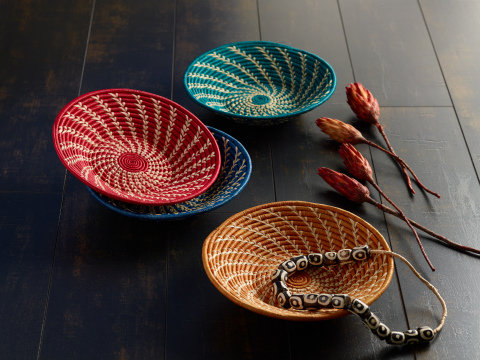 Ginga Baskets from Uganda from the new CRAFT Africa Collection at Cost Plus World Market (Photo: Business Wire)