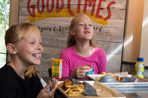 Kids Score with Expanded Kid's Menu at Good Times! (Photo: Business Wire)