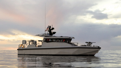 Louisiana-based shipbuilder Metal Shark has been awarded the contract to produce the U.S. Navy's next-generation patrol boat, the PB(X). (Photo: Business Wire)