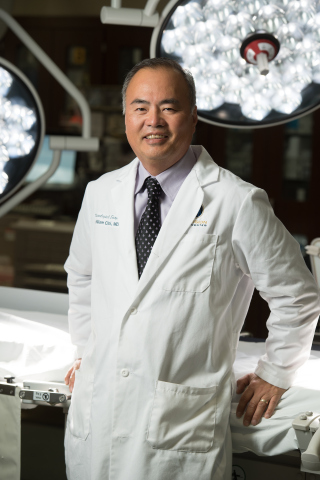 Dr. William Choi, director of the Precision Spine Center at Castle Rock Adventist Hospital and a leading spine surgeon in the Denver area, champions the use of innovative surgical technology like Synaptive Medical's BrightMatter™ platform to improve patient outcomes.