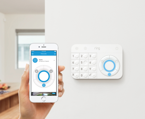 Ring launches Ring Protect, a home security system built to further reduce neighborhood crime and expand the Ring of Security around homes and neighborhoods. (Photo: Business Wire)