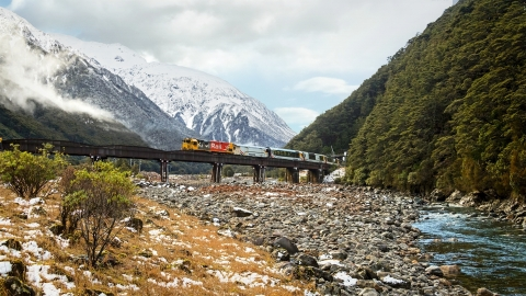 KiwiRail to drive high-performance culture with innovative technology from Quintiq - image courtesy of KiwiRail (Photo: Busines Wire)