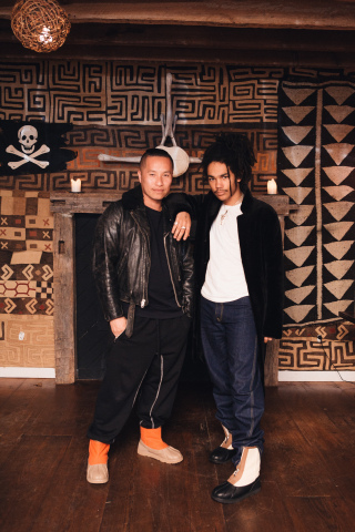 Phillip Lim and Luka Sabbat at the UGG x 3.1 Phillip Lim collaboration launch event at The Crow's Ne ...