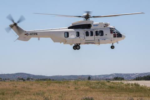 Waypoint H225 to Be Showcased at Helitech International Helicopter Expo in London (Photo: Business W ...