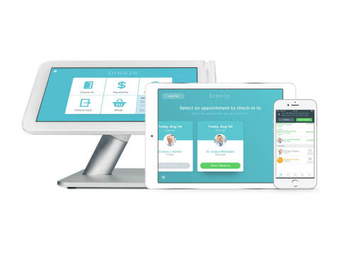 The Breeze platform runs natively on First Data's Clover® Mini and Clover® Station, iOS or Android devices, and any computer. (Photo: Business Wire)