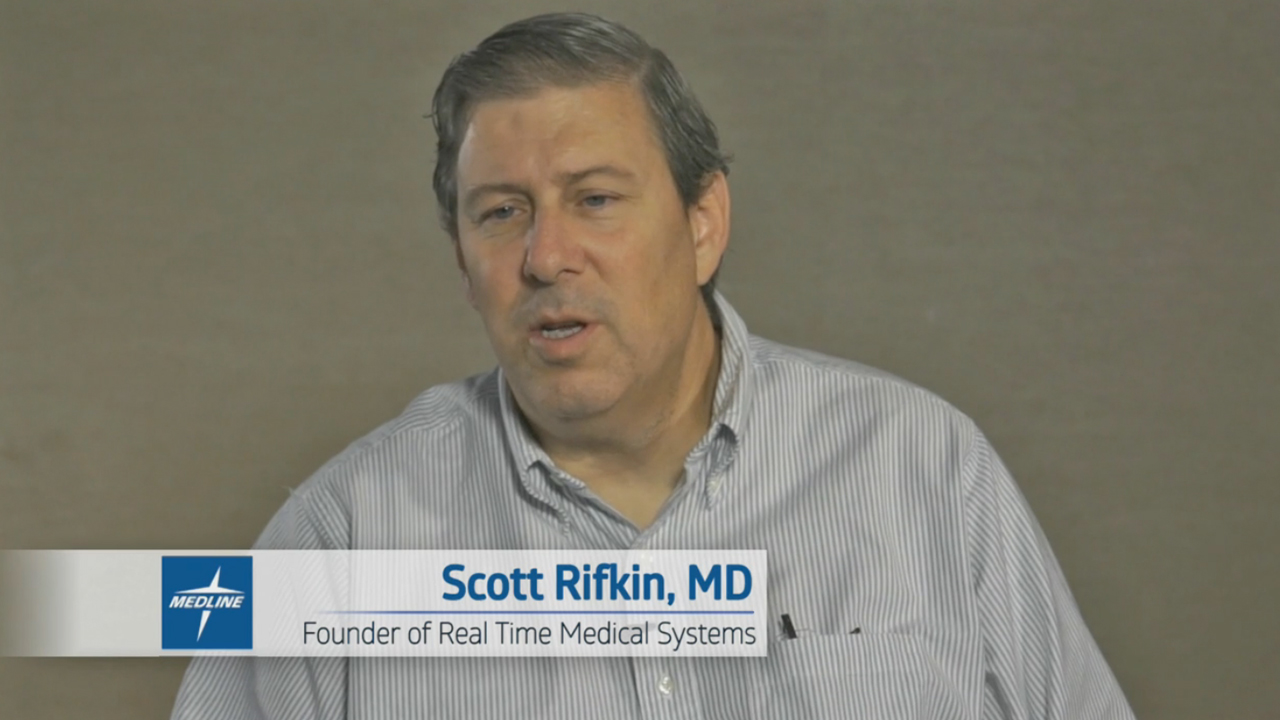Skilled nursing facilities are under pressure from hospitals to reduce readmissions, Real Time Medical Systems founder Scott Rifkin, MD, discusses the importance of facilities reacting in real time to changes in resident condition.