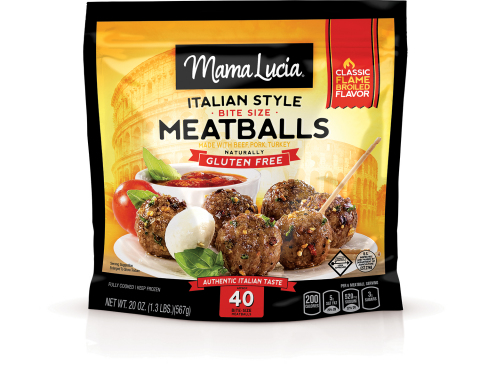 Mama Lucia NEW 20oz Meatballs (Photo: Business Wire)