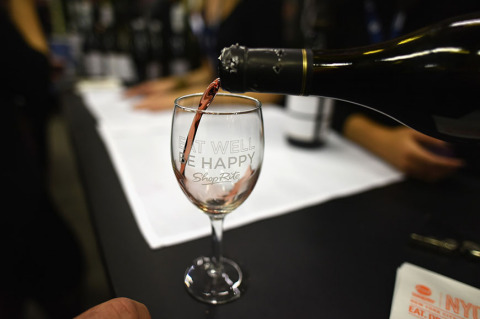 Wine being poured at the New York City Wine & Food Festival (Photo: Business Wire)