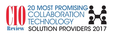 Enterprise video leader Qumu has been named among the Top 20 Collaboration Technology Solution Providers for 2017 by CIOReview Magazine. (Graphic: Business Wire)