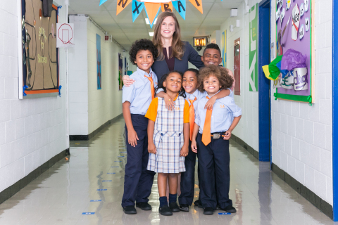 Elizabeth Vandlik, principal of Success Academy Bronx 1 in New York City, is a recipient of the 2017 Ryan Award, presented by The Accelerate Institute. (Photo: Business Wire)