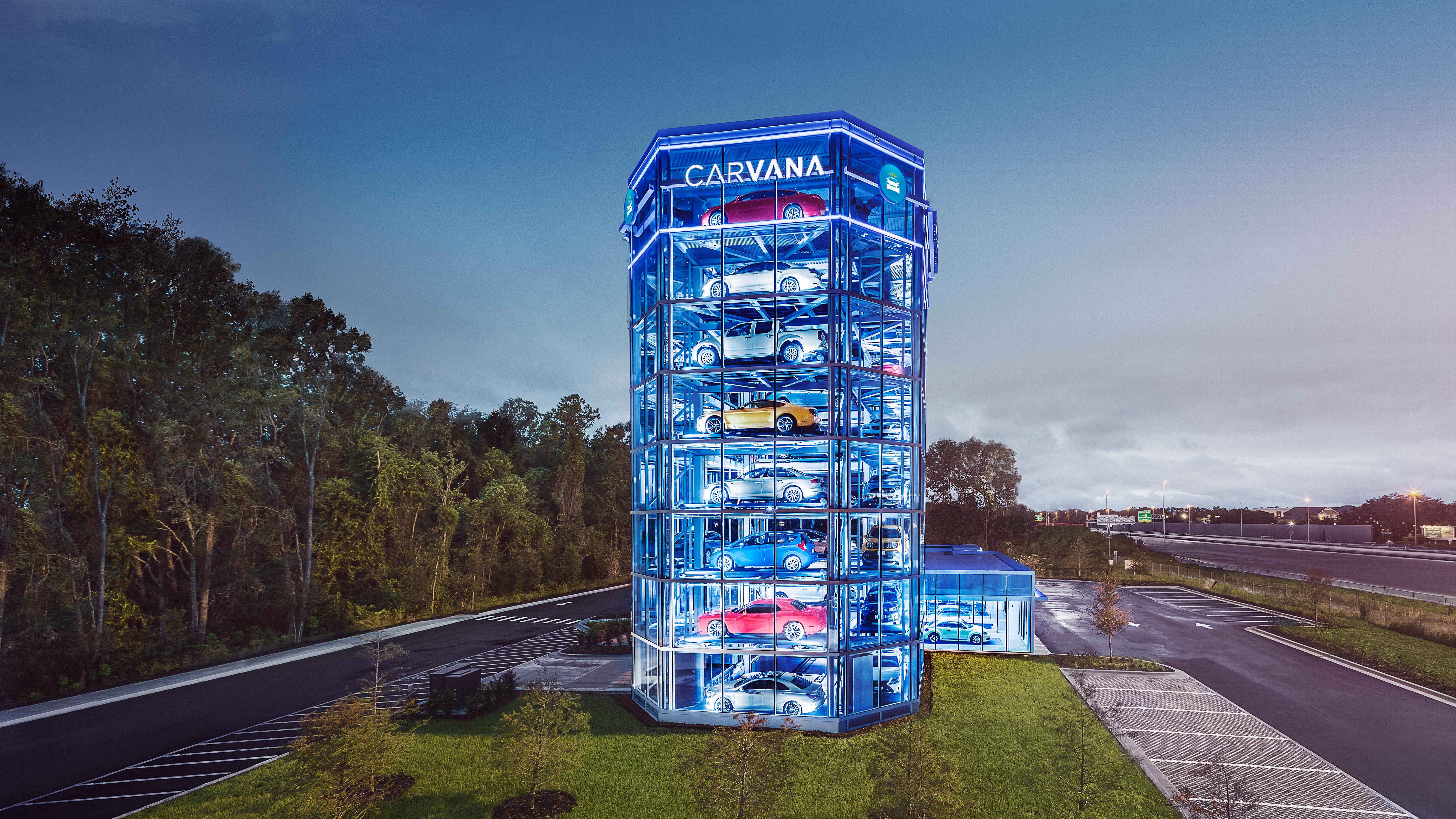 Carvana s Newest Car Vending Machine Debuts in Florida