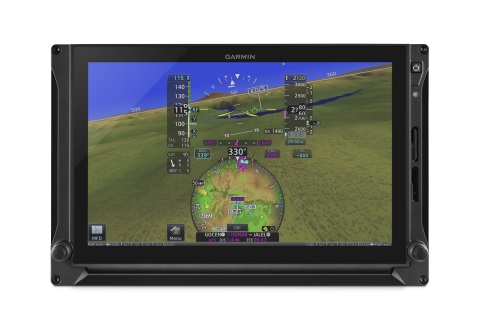 G600 TXi touchscreen glass flight display. (Photo: Business Wire)