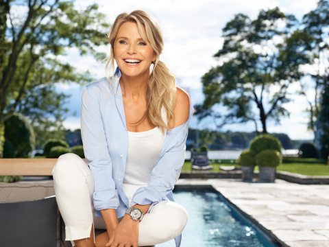Christie Brinkley Partners with Merz to Share Her Approach to Looking Timeless (Photo: Business Wire)