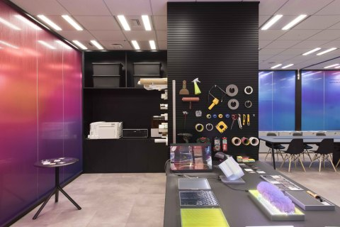 3M Design Center - Japan. New perspectives on materials innovation (Photo: Business Wire).