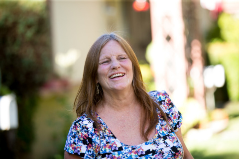 Dorothy Edwards was homeless in Pasadena for eight years before being placed in permanent supportive housing. (Photo: Michael Brannigan)