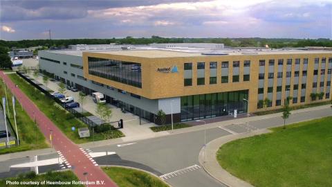Applied Medical, een internationaal bedrijf in medische hulpmiddelen, breidt uit in Europa met de opening van een 20.000m2 grote productie- en onderzoeksfaciliteit bij het hoofdkantoor in Amersfoort. (Foto: Heembouw Rotterdam B.V.)