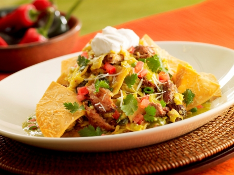 The Cheesecake Factory's popular Sunday brunch will now also be served on Saturdays, featuring signature dishes such as Green Chilaquiles with Carnitas and Eggs. (Photo: Business Wire)