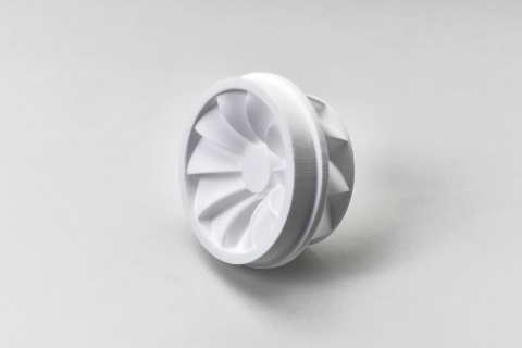 3D printed impeller that is printed using PPC² (Photo: Business Wire)