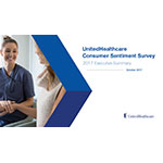 This year's UnitedHealthcare Consumer Sentiment Survey uncovered Americans' opinions and preferences about multiple health care topics, including technology trends, health literacy and customer service. The annual survey tracks consumers' opinions over time, helping to inform the conversation around how to make health care more affordable, accessible and easier to use (Courtesy of UnitedHealthcare).