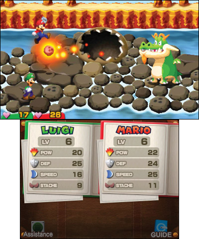 Mario & Luigi: Superstar Saga + Bowser's Minions will be available on Oct. 6. (Photo: Business Wire)