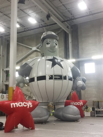 Harold the Baseball Player will debut in the 2017 Macy's Thanksgiving Day Parade celebrating the 70t ...