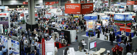 More than 140 exhibits showcasing the latest product innovations for industrial manufacturing and production from Rockwell Automation and members of its PartnerNetwork program will be on display Nov. 15 and 16 at the George R. Brown Convention Center in Houston. (Photo: Business Wire)