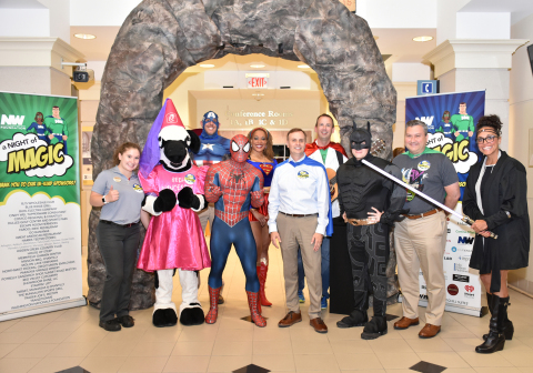 Attendees of the 8th annual Night of Magic, including sponsors, volunteers, and employees of the NWF ...
