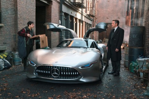 Bruce Wayne's Mercedes-Benz AMG Vision Gran Turismo (Photo: Business Wire)