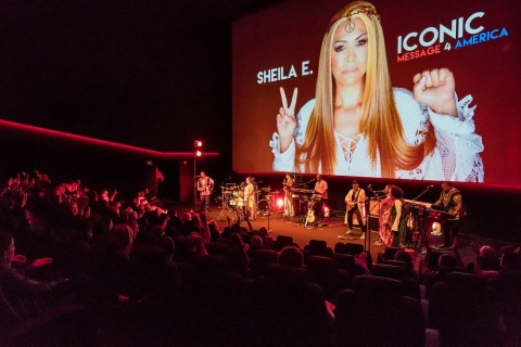 On Friday, October 6, 2017, WAM's Amplifier Benefit featured a sold-out performance by Sheila E. in the Dolby Cinema at 1275 Market for over 200 guests. (Photo: Business Wire)