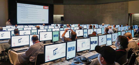 Operations, IT and engineering professionals are able to hone their automation skills in a variety of learning sessions including hands-on labs, technical sessions and industry forums offered at the Automation Fair event and Process Solutions User Group (PSUG) hosted by Rockwell Automation on Nov. 13-16. (Photo: Business Wire)