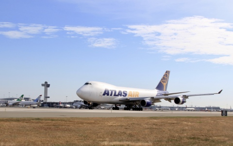 Atlas Air joined JetBlue to transport more than 220,000 lbs. of donations, which were collected through several organizations for distribution in Puerto Rico.