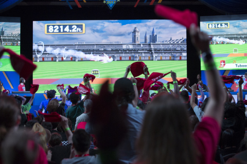 In this photo provided by Nintendo of America, fans have a chance to watch the competition take place live in the Nintendo World Championships 2017 finals at the Manhattan Center in New York, NY. (Photo: Business Wire)