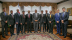 Group photo with H.E. Luis Guillermo Solis Rivera President of Costa Rica (Photo: AETOSWire)