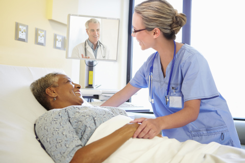 TripleCare's virtual technology and services enables Covenant's on-site nurses to connect seamlessly with highly-trained physicians to diagnose and treat patients during hours when physicians are typically not on site. (Photo: Business Wire)