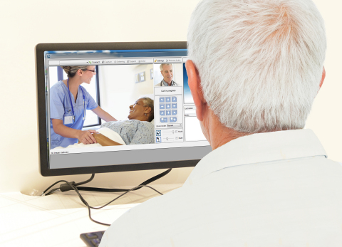 The virtual bedside visits allow TripleCare physicians to discern efficiently if patients need to be transported or can be treated in place. (Photo: Business Wire)